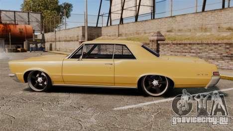 Pontiac GTO 1965 для GTA 4 вид слева