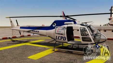 GTA V Police Maverick для GTA 4 вид изнутри
