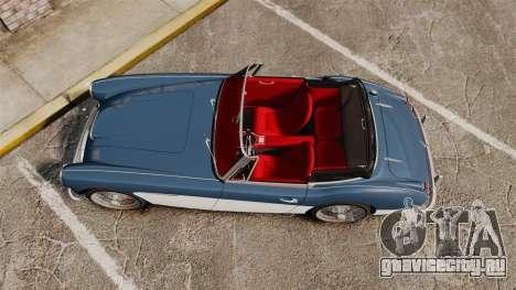 Austin-Healey 3000 Mk III 1965 для GTA 4 вид справа