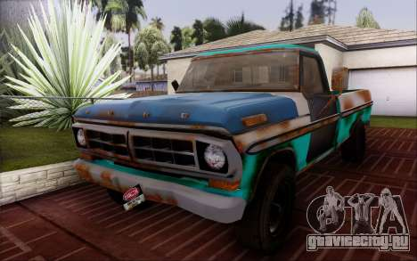 Ford F-150 Old Crate Edition для GTA San Andreas вид справа