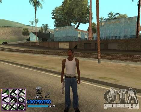 C-HUD by Dony Scofield для GTA San Andreas второй скриншот