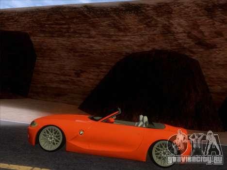 BMW Z4 Edit для GTA San Andreas вид справа
