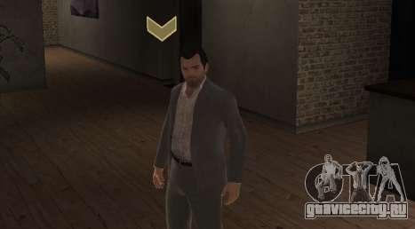 Michael De Santa from GTA V для GTA 4 второй скриншот
