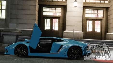 Lamborghini Aventador LP700-4 [EPM] 2012 для GTA 4 вид слева