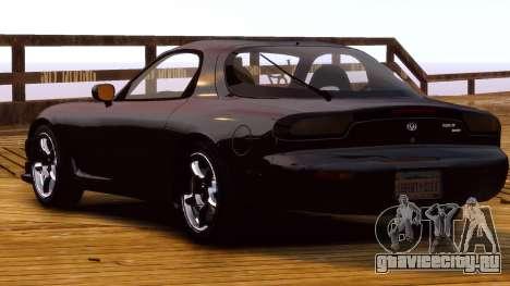 Mazda RX-7 FD 1999 для GTA 4 вид справа