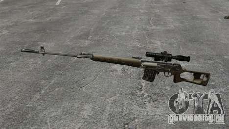 Снайперская винтовка Драгунова v2 для GTA 4 третий скриншот