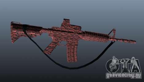 Автоматический карабин M4A1 для GTA 4 третий скриншот