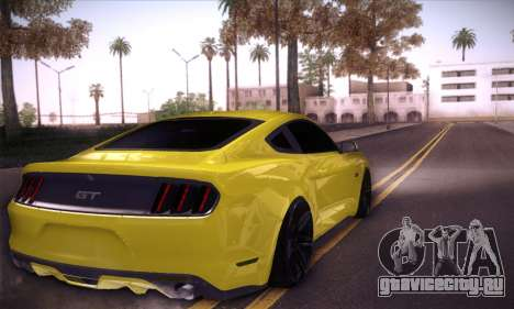 Ford Mustang 2015 Swag для GTA San Andreas вид слева