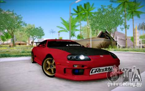 Toyota Supra RZ 1998 Drift для GTA San Andreas вид слева