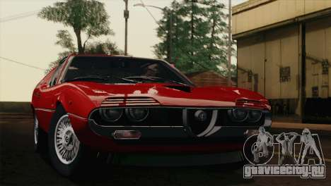Alfa Romeo Montreal (105) 1970 для GTA San Andreas вид справа
