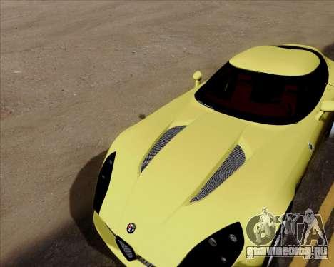 Alfa Romeo TZ3 2011 для GTA San Andreas вид сверху
