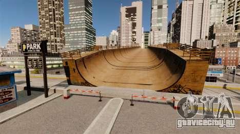 Algonquin Stunt Ramp для GTA 4