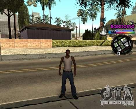 C-HUD by Andy Cardozo для GTA San Andreas