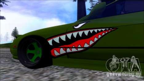Nissan Onevia Shark для GTA San Andreas вид сзади слева