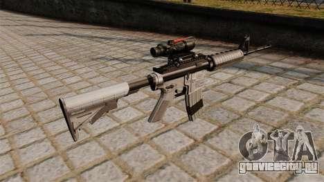 Автоматический карабин M4A1 Scoped для GTA 4 второй скриншот