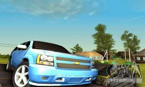 Chevrolet Suburban 2008 для GTA San Andreas салон