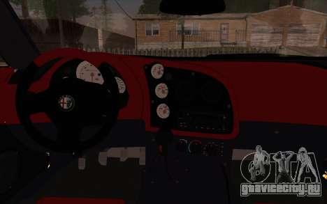 Alfa Romeo TZ3 2011 для GTA San Andreas вид сзади