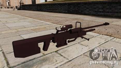 Снайперская винтовка Halo для GTA 4 второй скриншот