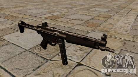 Пистолет-пулемёт MP5 чёрный сталкер для GTA 4