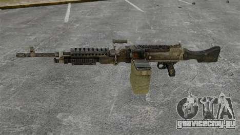 Единый пулемёт M240B для GTA 4 третий скриншот