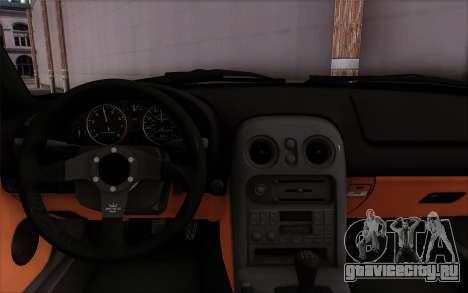 Mazda Miata для GTA San Andreas вид справа
