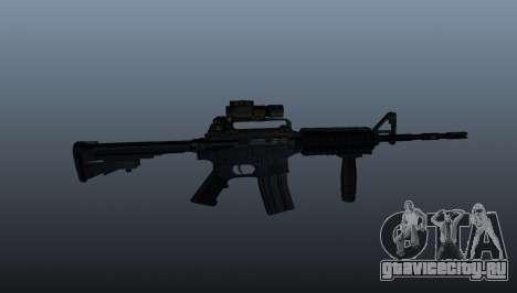 Автоматический карабин M4A1 Grip для GTA 4 третий скриншот