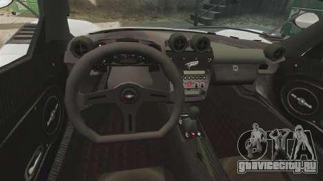 Modena Typhoon для GTA 4 вид сзади