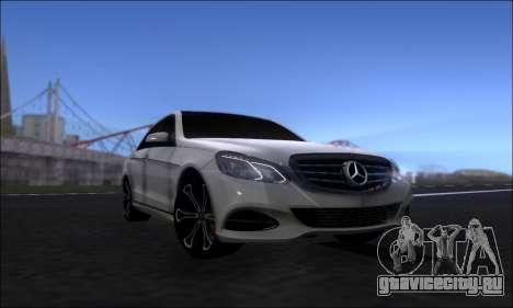 Mercedes-Benz W212 AMG v2.0 для GTA San Andreas вид справа