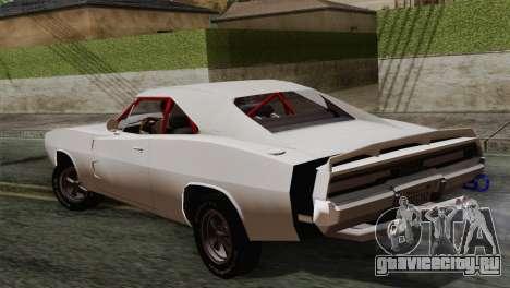 Dodge Charger 6o для GTA San Andreas вид слева