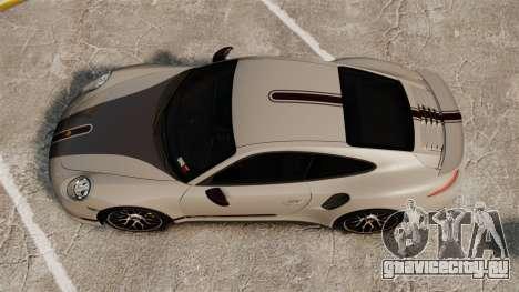 Porsche 911 Turbo 2014 [EPM] TechArt Design для GTA 4 вид справа