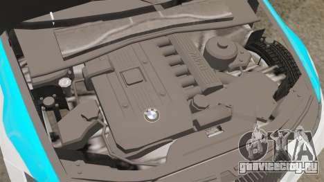 BMW 350i NYPD [ELS] для GTA 4 вид изнутри