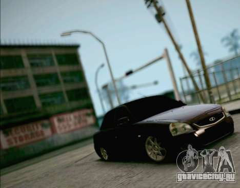 ВАЗ 2170 Приора для GTA San Andreas вид справа