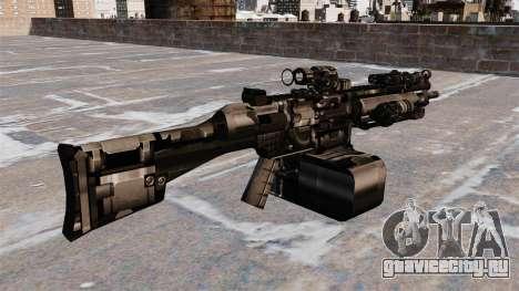 Единый пулемёт HK23E для GTA 4 второй скриншот