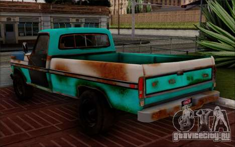 Ford F-150 Old Crate Edition для GTA San Andreas вид слева