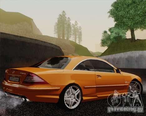 Mercedes-Benz CL65 для GTA San Andreas вид слева