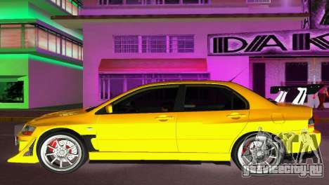 Mitsubishi Lancer Evolution VIII Type 8 для GTA Vice City