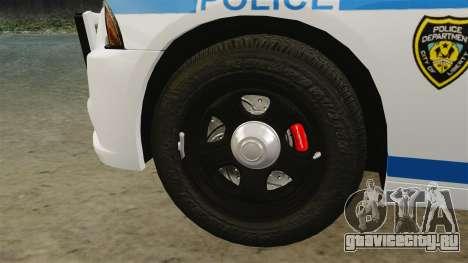 Dodge Charger 2012 LCPD [ELS] для GTA 4 вид изнутри