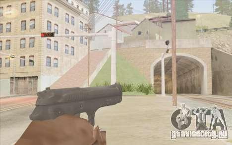 Пистолет Стечкина для GTA San Andreas второй скриншот