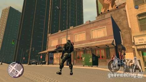 Crysis NanoSuit для GTA 4 второй скриншот