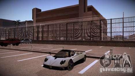 Pagani Zonda для GTA San Andreas вид сзади