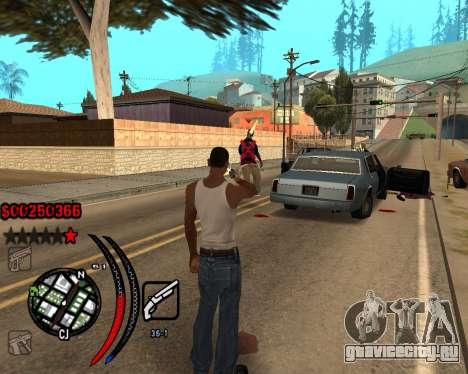 C-HUD Carbon для GTA San Andreas