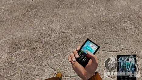 Тема для телефона Cube для GTA 4