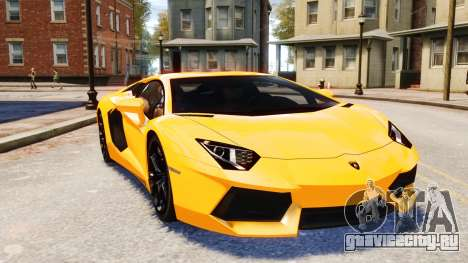 Lamborghini Aventador LP700-4 [EPM] 2012 для GTA 4 вид сбоку