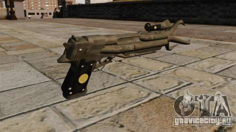 Пистолет маньяка для GTA 4 второй скриншот