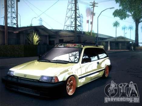 Honda Civic Si 1986 для GTA San Andreas