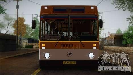 ЛиАЗ 5256.00 для GTA San Andreas вид снизу
