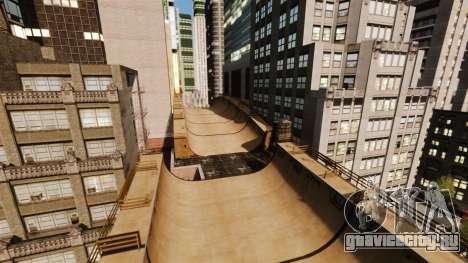 Algonquin Stunt Ramp для GTA 4 второй скриншот