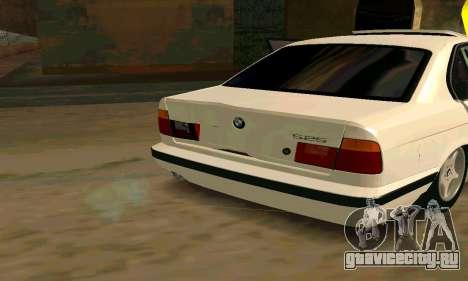BMW 525 для GTA San Andreas вид слева