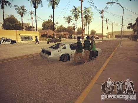 GTA SA Low Style v1 для GTA San Andreas