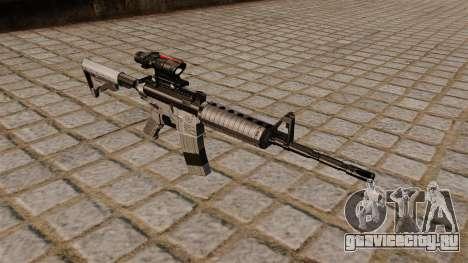 Автоматический карабин M4A1 Scoped для GTA 4